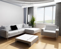 Drawing room 3d Stock Images