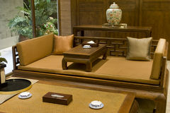 Drawing  room. Chinese  drawing room of  china Stock Photo