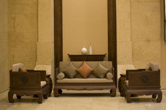 Drawing  room. Chinese  drawing room of  china Stock Photography