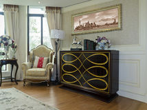 Drawing room apartments Stock Images