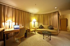 Drawing room of hotel. Drawing room of Luxury hotel Stock Photos