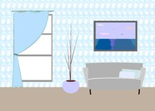 Drawing room interior Stock Photo