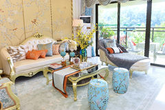 Drawing room living room Royalty Free Stock Photo