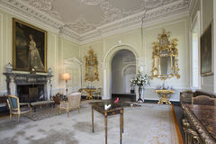 Drawing Room - Manor House - Yorkshire - England Stock Image