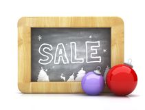 Drawing sale Royalty Free Stock Image