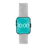Drawing smart watch wearable technology Royalty Free Stock Photos