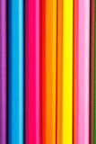 Drawing supplies: assorted color pencils, without tips Stock Photography