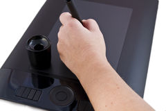 Drawing tablet Royalty Free Stock Photos