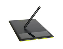 Drawing tablet Royalty Free Stock Image