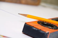 The drawing tool Royalty Free Stock Photography