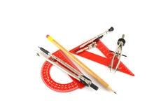 Drawing tools Royalty Free Stock Photos