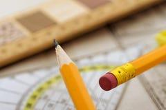 Drawing tools Stock Photos
