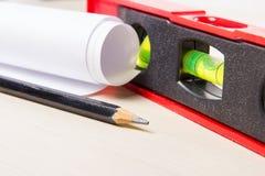 Drawing tools closeup Royalty Free Stock Photo