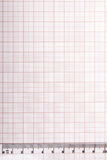 Drawing tools on graph paper Stock Photos
