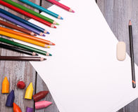 Drawing tools Stock Image