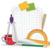 Drawing tools Royalty Free Stock Image