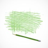Drawing tools template sketch Stock Photography