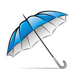 Drawing umbrella Stock Image