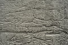 Drawing on the wall. Abstract pattern on a concrete wall Royalty Free Illustration
