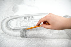 Free Drawing With Pencil Stock Images - 68760644