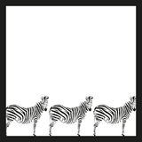Drawing of a zebra Royalty Free Stock Images