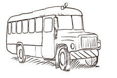 Drawings car Stock Photography