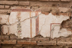 Drawings in Terrace Houses, Ephesus Ancient City Stock Photos