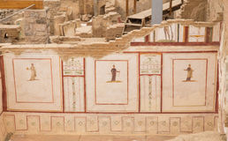 Drawings in Terrace Houses, Ephesus Ancient City Royalty Free Stock Images