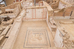 Drawings in Terrace Houses, Ephesus Ancient City Royalty Free Stock Photography