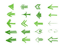 Drawn Arrows Royalty Free Stock Photo
