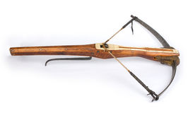 A drawn crossbow stock photography