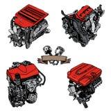 Engine vector illustration