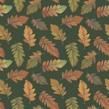 Drawn leaves in watercolor for design. stock illustration