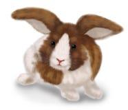 Drawn rabbit Stock Photography