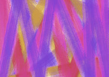 Drawn texture, background. Abstract drawn background with brushstrokes in blue, pink and violet colors. A4 size format. Series of Watercolor, Oil, Pastel, Chalk royalty free illustration