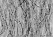 Drawn texture, background. Abstract background with brushstrokes in the shape of waves in black and grey colors on the white backdrop. A4 size format. Series of Stock Photo