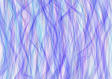 Drawn texture, background. Abstract background with brushstrokes in the shape of waves in blue colors on the white backdrop. A4 size format. Series of Watercolor Royalty Free Illustration