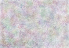 Drawn texture, background. Abstract drawn watercolor background in blue, pink and violet colors. Effect of crumpled paper. A4 size format. Series of Watercolor royalty free illustration