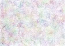 Drawn texture, background. Abstract drawn watercolor background in blue, pink and violet colors. A4 size format. Effect of crumpled paper. Series of Watercolor stock illustration