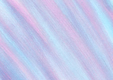 Drawn texture, background. Pastel abstract drawn background with brushstrokes in blue, pink and violet colors. A4 size format. Series of Watercolor, Oil, Pastel stock illustration