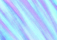 Drawn texture, background. Pastel abstract drawn background with brushstrokes in blue and violet colors. A4 size format. Series of Watercolor, Oil, Pastel, Chalk Stock Photography