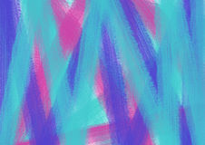 Drawn texture, background. Pastel background with brushstrokes in blue, pink and violet colors. A4 size format. Series of Watercolor, Oil, Pastel, Chalk and Inc royalty free illustration