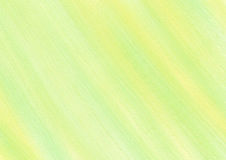 Drawn texture, background. Pastel background with brushstrokes in yellow and green colors. Series of Watercolor, Oil, Pastel, Chalk and Inc Backgrounds Stock Image