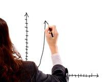 Draws elegant schedule Stock Image