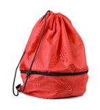 Drawstring bag Stock Image
