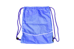Drawstring bags Royalty Free Stock Images
