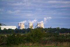 Drax power station royalty free stock photo
