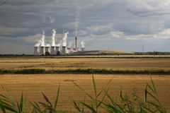 Drax power station. A large coal-fired power station located in North Yorkshire, England. Situated on the River Ouse between Selby and Goole. Its generating stock photo