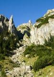 Dray mountain valley Royalty Free Stock Photos