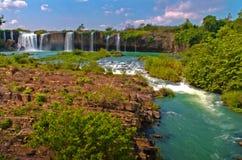 Draynur fall. Dray Nur waterfall is a large and majestic waterfalls of Daklak province, Vietnam Stock Photo